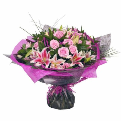 Prus Perfectly Pink Bouquet